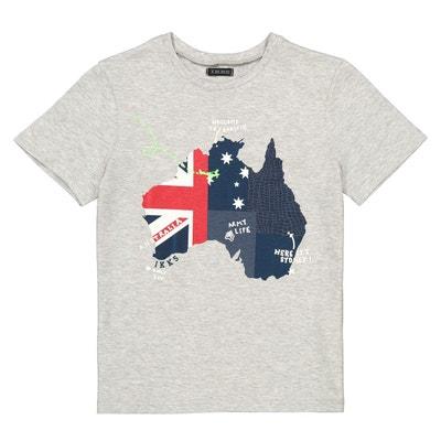 123ebd9391753 T-shirt imprimé devant 4-14 ans T-shirt imprimé devant 4-. IKKS JUNIOR