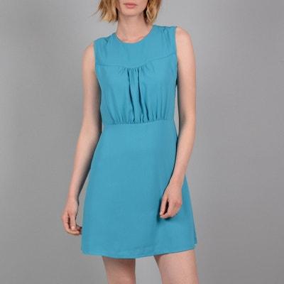Korte jurk zonder mouwen, inzetstuk op lijfje Korte jurk zonder mouwen, inzetstuk op lijfje MOLLY BRACKEN