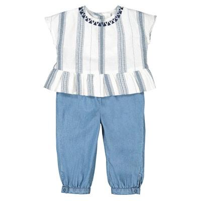 d0b502054 Conjunto de 2 prendas blusa + pantalón