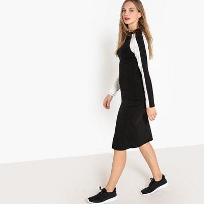 Kleid weib kurz v ausschnitt