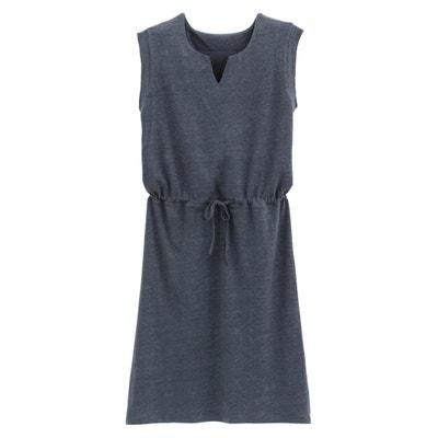 5ee4ec36a6dc63 Korte jurk in linnen
