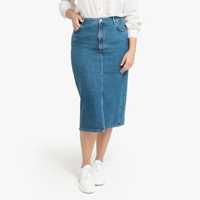 1d7c2194d8a0a9 Jupe en jean longueur genoux | La Redoute