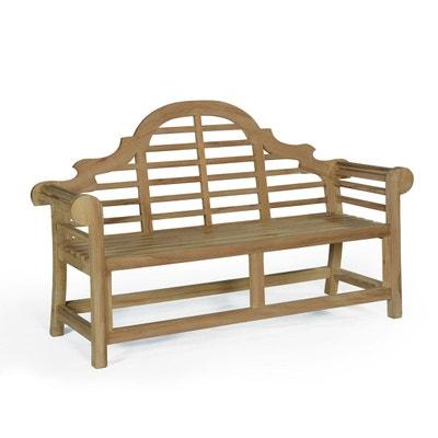 Salon de jardin - Table, chaises Teck attitude | La Redoute