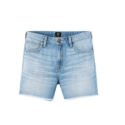 eb6b7ceacc Short boyfriend en jean coupe 5 poches LEE. Vente flash