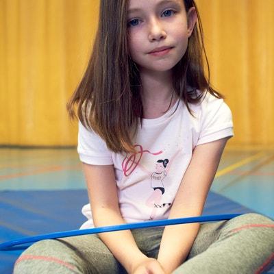 T-shirt met ronde hals en ballerina print vooraan 3 - 12 jaar T-shirt met ronde hals en ballerina print vooraan 3 - 12 jaar LA REDOUTE COLLECTIONS