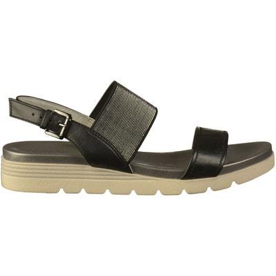 60e20b730841c1 Sandales Cuir/Textile Sandales Cuir/Textile CAPRICE