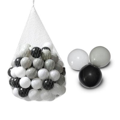 f487ad5316c666 Sac de 100 balles de jeu ou de piscine diamètre 5,5 cm indéformables +