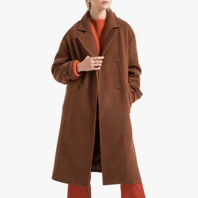 Manteau classique capuche femme