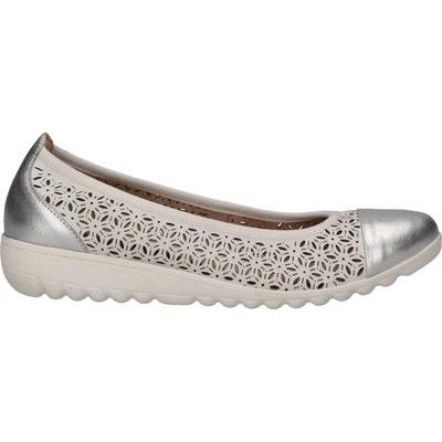 CAPRICE 22142-22 Femme Ballerines Classiques,Ballerines,Chaussures d/ét/é,/élastique