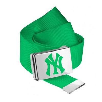 Ceinture NEW YORK Yankees MLB Vert Kelly NY MASTERDIS Belt MASTERDIS 91848d1d1d5