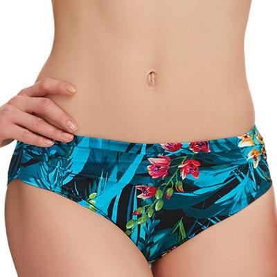 5018e75eca Culotte de bain drapée imprimé floral Seychelles FANTASIE