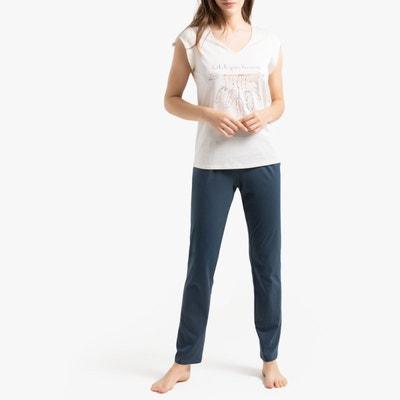 4d7043a4cdab7 Pyjama manches courtes LA REDOUTE COLLECTIONS