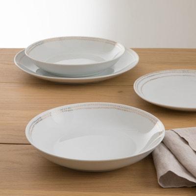 Set van 4 diepe borden Essentielle Set van 4 diepe borden Essentielle LA REDOUTE INTERIEURS