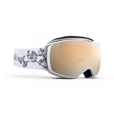 992fc884504857 Masque de ski mixte JULBO Blanc ECHO Blanc Fleur S Spectrron 3 Masque de ski  mixte