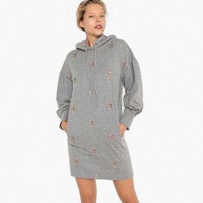 Robe sweat à capuche c9483b4fe87
