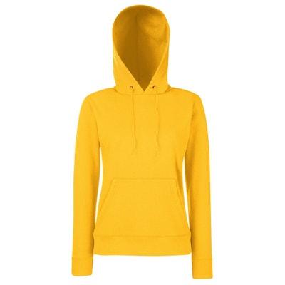Sweat jaune moutarde | La Redoute