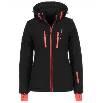 42b7eef0d04a Peak Mountain - Blouson de ski femme ANADO-noir-T1 PEAK MOUNTAIN