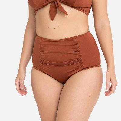 f91081b2236 Ruched Bodyshaping Mix and Match Bikini Bottoms LA REDOUTE COLLECTIONS PLUS