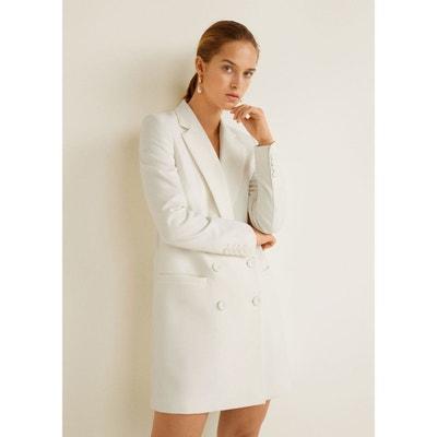 c5d7b9384148 Redoute En Hiver Femme Blanc La Solde Manteau 8wYqtt