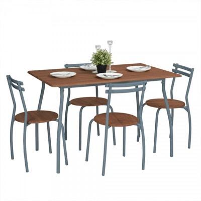 Ensemble Table Et 4 Chaises Design Industriel CALICOSY