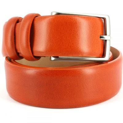 Ceinture cuir, orange, 35mm Ceinture cuir, orange, 35mm ROBERT CHARLES 7eb4d8d55e8