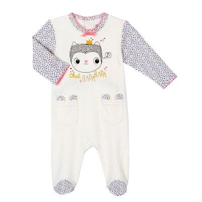 405b4e6f1b7fd Pyjama bébé fille Chatbada Pyjama bébé fille Chatbada PETIT BEGUIN