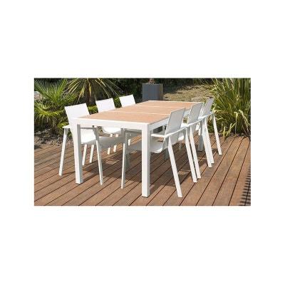 Ensemble table, chaise de jardin DCB GARDEN | La Redoute