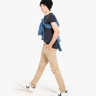 Chino broek 10-18 jaar Chino broek 10-18 jaar LA REDOUTE COLLECTIONS