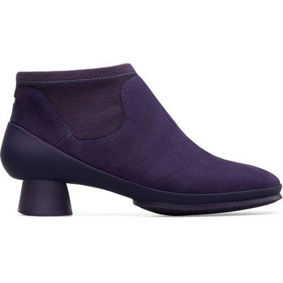 Bottines violettes femme   La Redoute