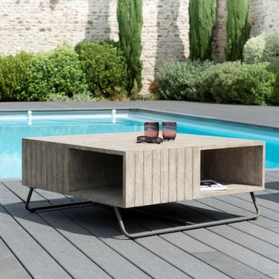 Table basse jardin teck | La Redoute
