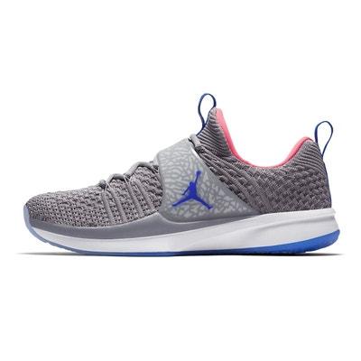 buy online c048a 1d4fc Chaussures basketball Nike Jordan Trainer II Flyknit Gris JORDAN