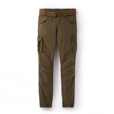 code promo dernière sélection livraison gratuite Pantalon cargo homme   La Redoute