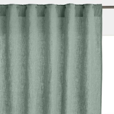 Gordijn in gewassen linnen met verdekte lussen, Onega Gordijn in gewassen linnen met verdekte lussen, Onega LA REDOUTE INTERIEURS