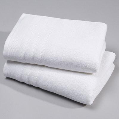 Set van 2 handdoeken in badstof 600 g/m² Set van 2 handdoeken in badstof 600 g/m² LA REDOUTE INTERIEURS
