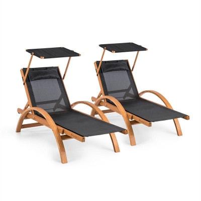 Chaise longue, transat en solde BLUMFELDT | La Redoute