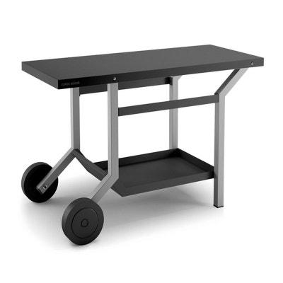 f81e11e44abc15 forge adour - chariot pour plancha gris noir - tra ng forge adour - chariot