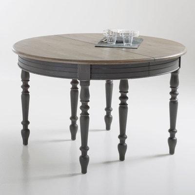 table bois gris la redoute. Black Bedroom Furniture Sets. Home Design Ideas