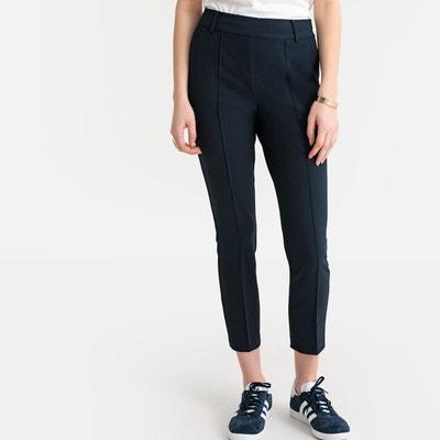 d5f56ccd5e5ee Pantalon cigarette femme bleu marine   La Redoute