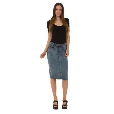 0046361535d4e1 Jupe en jean | La Redoute