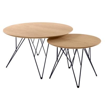 Table Gigogne Ronde Bois La Redoute