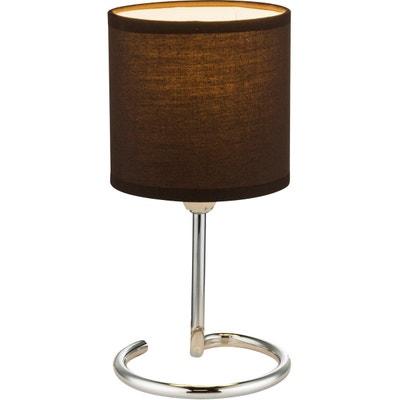 Lampe A Poser Pied Chrome La Redoute