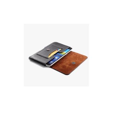 Etui Ceinture 155x87x10 De Qualité Ultra Fin Avec Porte Carte AMAHOUSSE d836edbe808