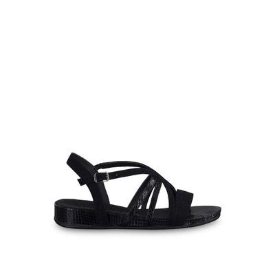 Boucle Plates Sandales Chaussures Sangle Tamaris Escarpins