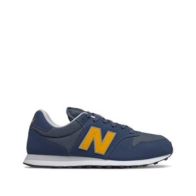 new balance homme bleu jaune