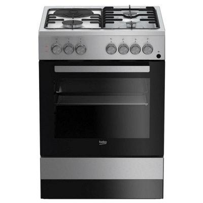 beko - cuisinière mixte a 66l 4 feux blanc - fss63110dscs beko - cuisinière  mixte a 083a13becdb9