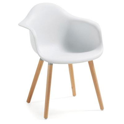 Chaise Avec Accoudoirs Kevya Blanc KAVE HOME