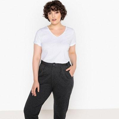 2c62bd7cc862c Tee shirt col v femme | La Redoute