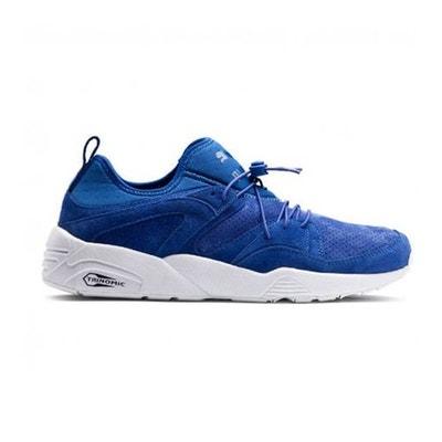 puma trinomic bleu