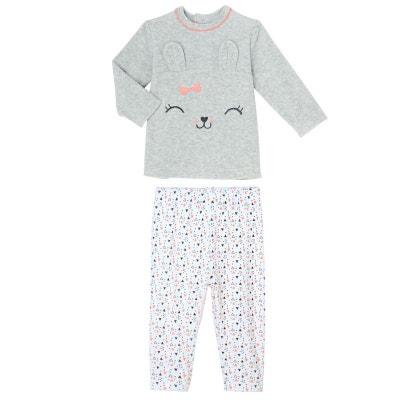 b864374b3aefd Pyjama bébé 2 pièces velours Pretty Bunny PETIT BEGUIN