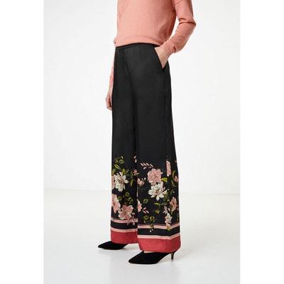 Pantalon en satin à imprimé foulard Pantalon en satin à imprimé foulard  HALLHUBER 069f2119471